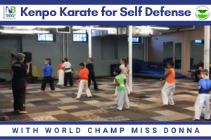 Kenpo Karate for Self Defense with World Champ Miss Donna