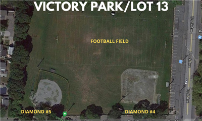 Victory Park & Lot 13 Football & Baseball Fields