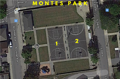 Montes Park Basketball Courts